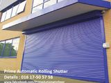 Automatic Industrial Rolling Shutter with Remote