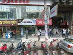 Shop (Alibaba sweets) for rent front row main floor of S R Tower UTTARA