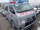 Toyota Hiace GL AMBULNCE DUEL AC 2015