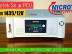 MICROTEK MSUN SOLAR DIGITAL UPS 1435VA 1050W 12V PWM HY BRID INVERTER
