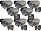 CC Camera 08Pcs & 08Ch DVR Full Packages