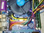 ESONICE G31 MOTHER BOARD /4 GB RAM /DUAL CORE PROCESSOR