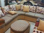Sofa : Lshape corner, Ready stock