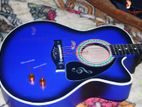 Brand new electric dual controller acoustic guitar