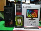 """New Esonic 17"""" LED 4GB RAM 160GB HDD (1year warranty)"""
