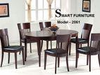 Smart design Dining Set (1+6) Model-2061