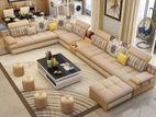 Smart design U-Shape sofa Set Model -4289