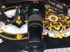 canon 1000 d 55 -250 joom lens
