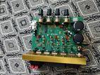 2 speaker on subwoofer amplifier board