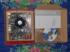 Motherboard+Graphics card+Ram+Processor