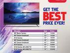 "Aiwa 43"" Smart Tv with voice control remote"