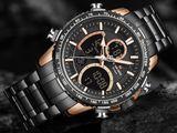 AUTHENTIC NAVIFORCE Men Watch NF9182 Top Luxury Brand Big Dial Mens