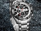 Authentic NAVIFORCE Men's Sport Watches Luxury Military Leather Strap