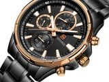 Authentic NAVIFORCE Men's Watch Top Brand Luxury Military Business 9089