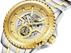 AUTHENTIC NAVIFORCE NF9186 Silver Stainless Steel - & Golden