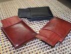 Leather wallet(men)