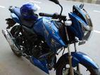TVS Apache RTR Blue Matte 2018