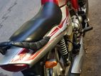 TVS Victor red silver 2010