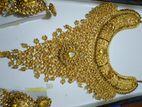 Gold plate set