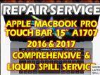 "MACBOOK PRO 15"" A1707 TOUCH BAR REPAIR & LIQUID SPILL SERVICE"