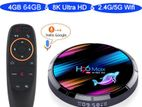 H96 Max X3 4/64GGB With Bluetooth & Voice Control Android TV Box