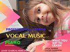 Classical music (Vocal) & Piano Teacher.