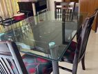 Dining table with 4 chairs Urgent