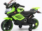 Kids ride on battery operated toy E-bike