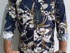 Linen Full Shirt (Size: L, M)