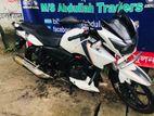TVS Apache RTR white 2016