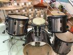 Carlos Drum Set (Black). Made in Taiwan