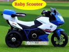 Baby electric Scooty ride on system