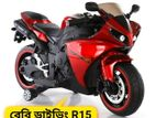 Baby R15 Electric Bike For Ride