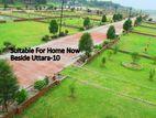 # Instant Registration= ৪ কাঠা প্লট 100 % Ready_Near-Sec-10-Uttara