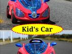 Body lightning rechargeable Kid's Car