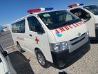Toyota Hiace AMBULANCE readystock 2015