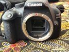 Canon 1200-D with 2 lens