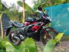 Suzuki Gixxer Black/Red 2018