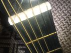 almost new acoustic guitar
