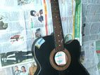 Givson indian regular series guitar with bag and picks