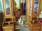 অরিজিনাল সেগুন কাঠের Dressing টেবিল