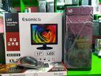 """4GB RAM-500GB HDD-New-17"""" LED- 1year warranty"""