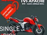 TVS Apache RTR 4V SD Brand new 2020