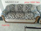 Furniture,Sofa set-3+2+1= 6 seat,Code-S36