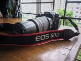 Canon 60 D camera with 70-300 mm lens is for sell