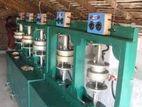Areca lips, paper plates mosquito coile & making machine