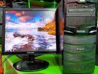 """SAMSUNG-17""""LED-4GB RAM-160GB HDD-1year warranty"""