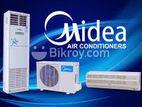 Midea 2.0 Ton Split Ac with Warranty BTU 24000 Original Import China