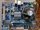 Gigabyte G41 with Quad core processor