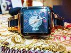 Romanson Rare Automatic 5 Micron Gold Plated Watch